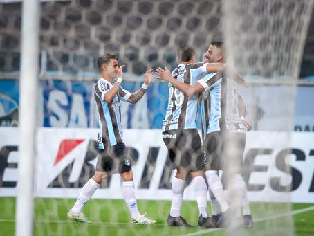 Grêmio goleia o Aragua por 8 a 0 e segue líder do grupo na Sul-Americana; veja os melhores momentos