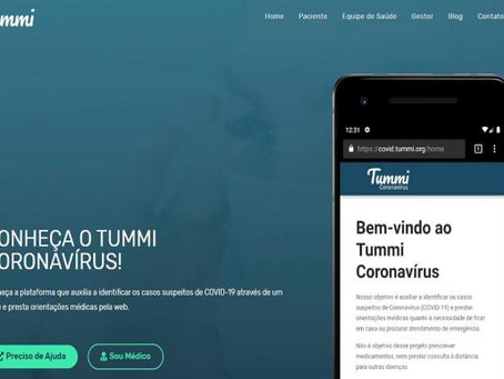 Plataforma online oferece atendimento a pacientes com sintomas de coronavírus