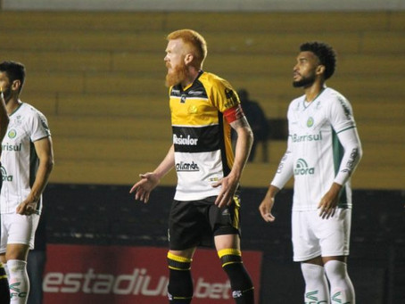 Em jogo de oito gols, Ypiranga empata com o Criciúma