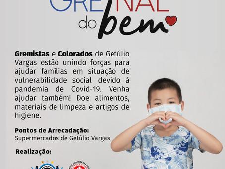 Consulados do Internacional e do Grêmio de Getúlio Vargas se unem em campanha solidária