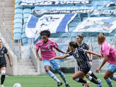 Brasileiro Feminino: Grêmio perde para Corinthians