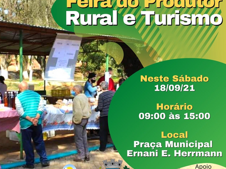 Feira do Produtor Rural e Turismo acontece neste sábado (18) em Sertão