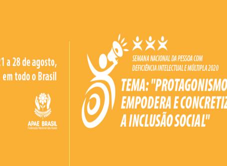OLHO VIVO   Semana Nacional da Pessoa com Deficiência Intelectual e Múltipla