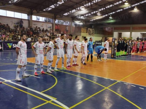 Atlântico Futsal de Erechim vence jogo de ida das oitavas de final do Gauchão