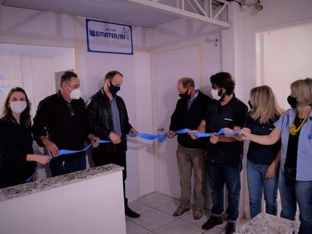 Emater inaugura novo escritório em Quatro Irmãos