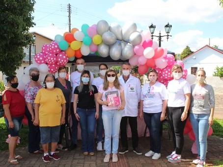 Saúde na praça: Ipiranga do Sul desenvolve ações no Outubro Rosa