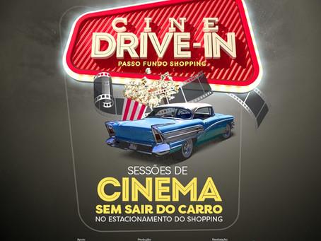 Passo Fundo terá sessões de cinema drive-in a partir de quinta-feira (11)