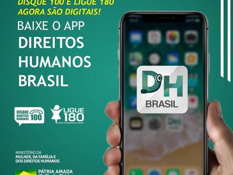 Aplicativo Direitos Humanos Brasil chega a usuários do sistema iOS