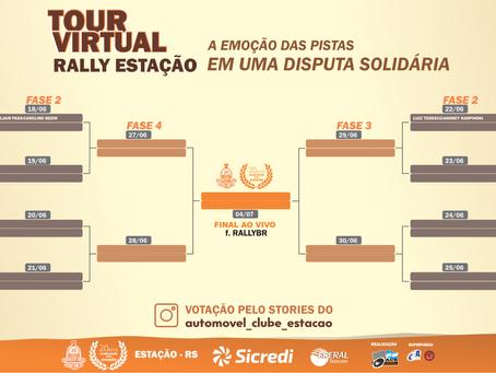 Tour Virtual do Rally de Estação começa nesta quarta-feira (3)