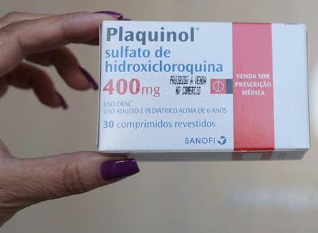 Cloroquina aumenta risco de morte em pacientes, diz estudo
