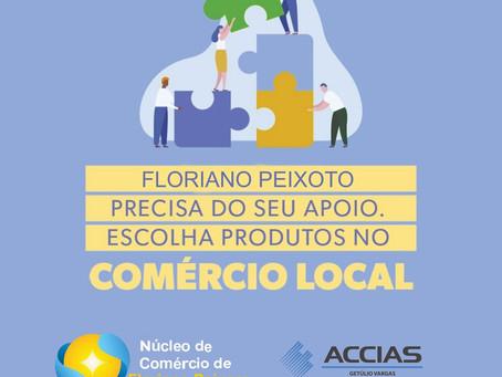 ACCIAS é parceira de Associações Comerciais da região, que lançaram campanha do Dia das Mães