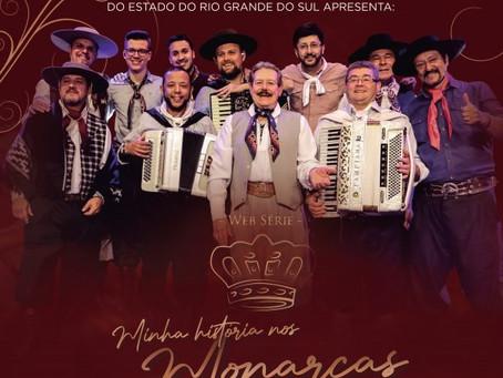 Os Monarcas realizam Live para lançar Web Série nesta quinta-feira (15)