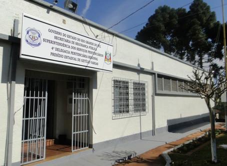 Plano prevê retomada das visitas presenciais nos presídios gaúchos a partir do dia 16 de outubro