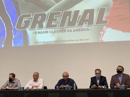 Grêmio e Inter assinam contrato com produtora para lançamento de série sobre o Gre-Nal