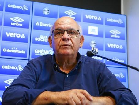 Presidente do Grêmio relata perda do paladar durante quarentena pela Covid-19
