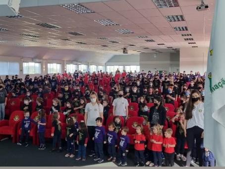 Escola de Educação Básica IDEAU -Santa Clara realiza Integração Escolar