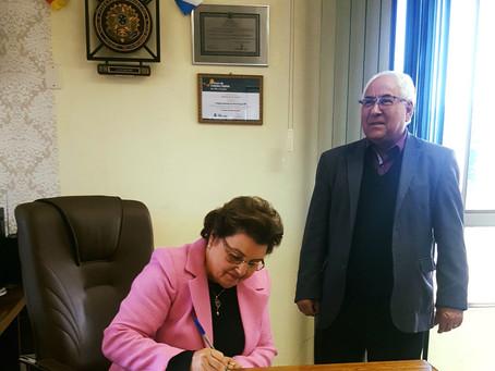 Maria Helena Tonin assume prefeitura de Estação temporariamente