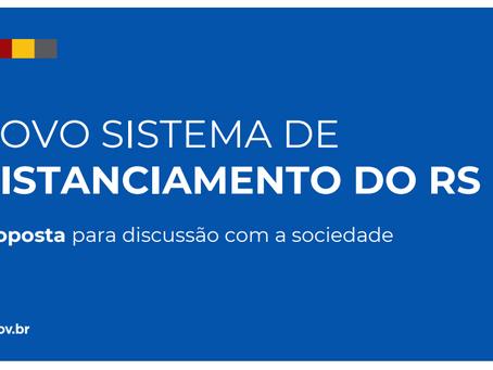 Com participação maior das regiões, governo do RS apresenta novo sistema de distanciamento
