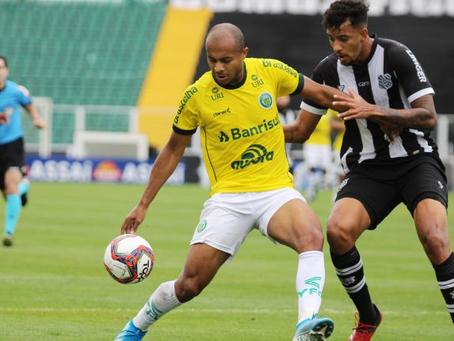Ypiranga empata com o Figueirense e segue na liderança da Série C
