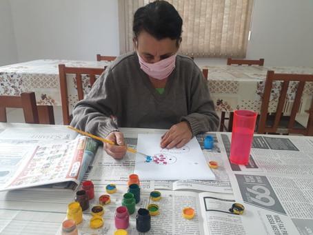 Integrantes do Grupo Amizade  de Erebango retomam, gradualmente, às atividades presenciais