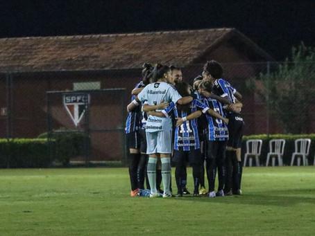 Grêmio leva última vaga e define quartas do Brasileiro Feminino