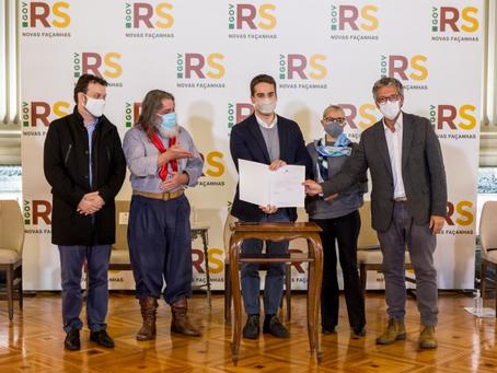 Governador do RS sanciona lei que define 2021 como o Ano do Nativismo Gaúcho