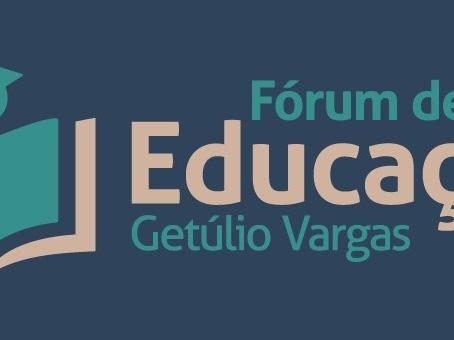 [ÁUDIO] Fórum da Educação de Getúlio Vargas começa em 06 de outubro; inscrições seguem até dia 1º/1