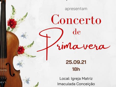 [ÁUDIO] Concerto de Primavera acontece neste sábado (25) em Getúlio Vargas