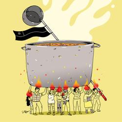 """""""El fuego lo ponemos nosotres"""""""