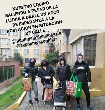 Olla Común de Venezolanos para Chile