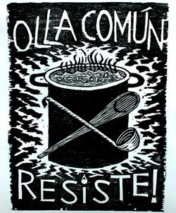 OLLA COMUN RESISTE!