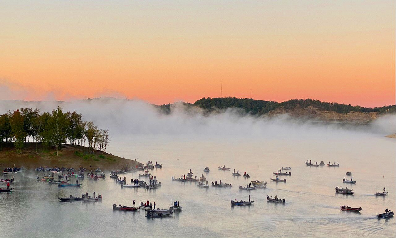 The 2020 Carhartt Bassmaster College Series qualifier