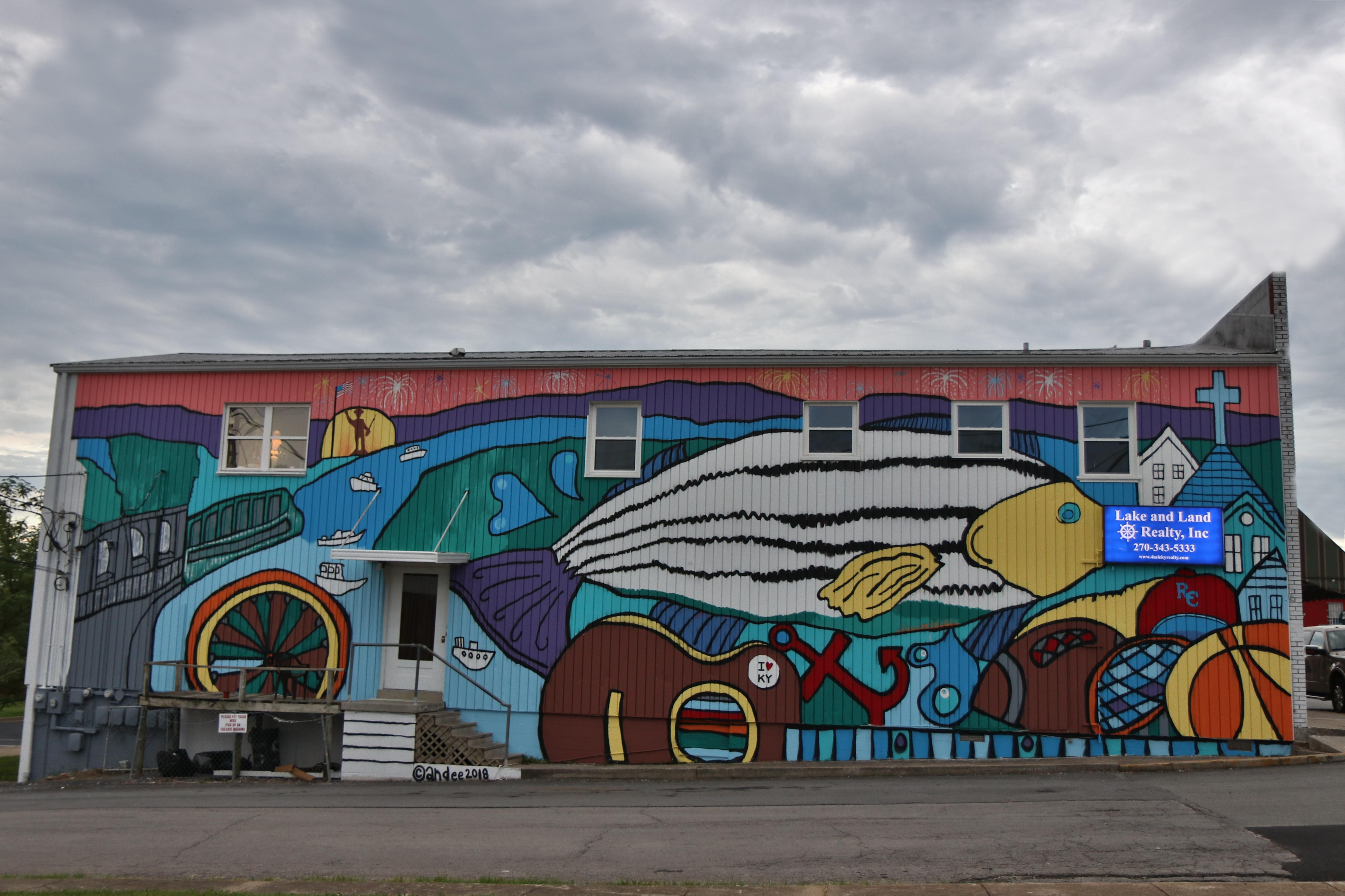 Monument Square Mural