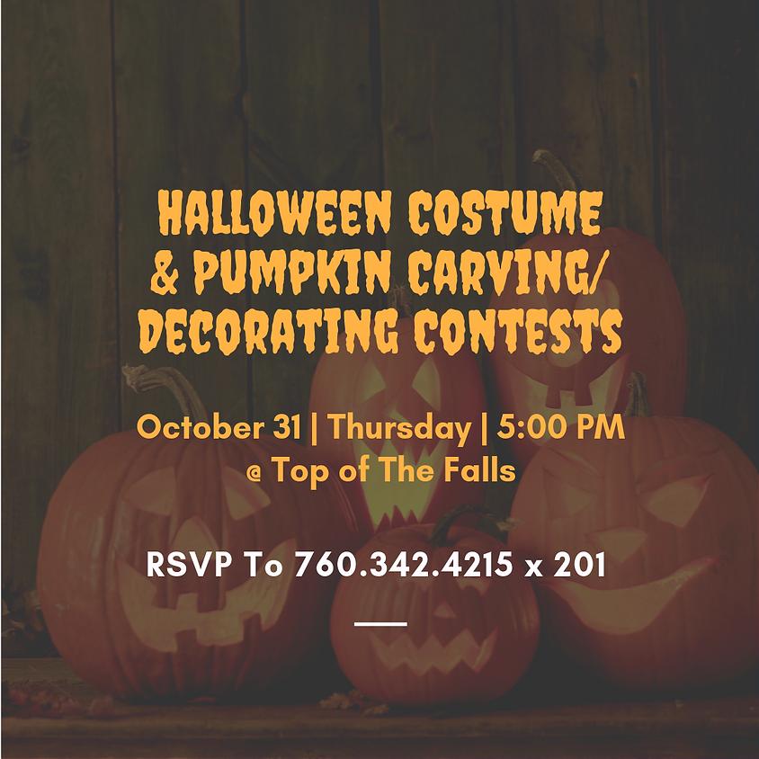 Halloween Costume & Pumpkin Carving/Decorating Contests