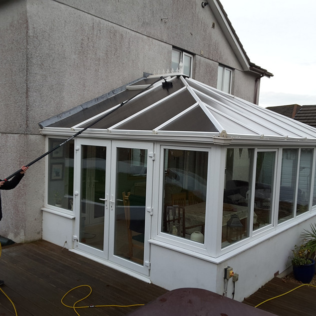 conservatory cleaning in kent with teres