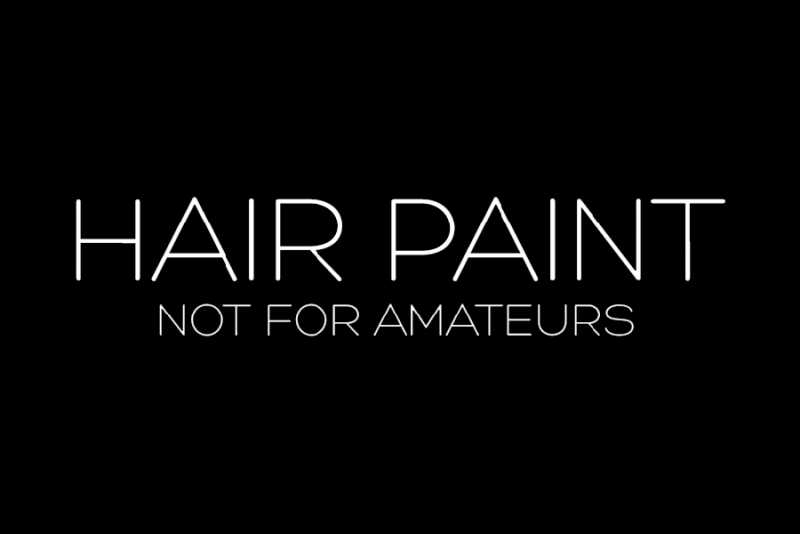 hair paint logo