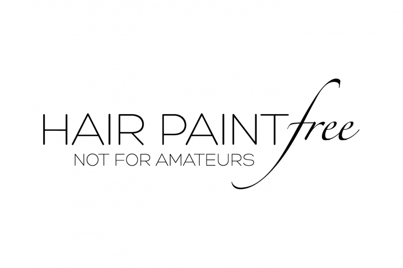 hair paint free logo