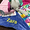 Thumbnail: Personalised Taggies Bright Starts Cuddles N Tags Blankie Comforter Baby Taggy