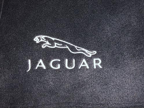 Personalised Jaguar Fleece Blanket