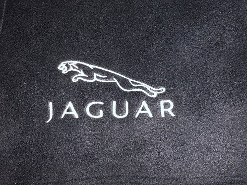 Personalised Jaguar Fleece Blanket