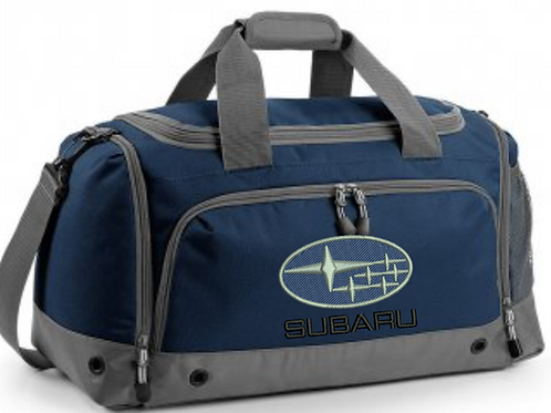 Personalised Subaru Holdall Boot Tidy Bag Gym Bag Shoe Bag Cleaning Bag scooby