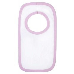 Blank Velcro Bibs with light coloured Trim