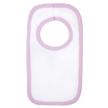Blank Velcro Bibs with light coloured Trim