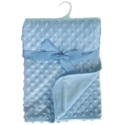 Blue Bubble Embossed Micro Wrap
