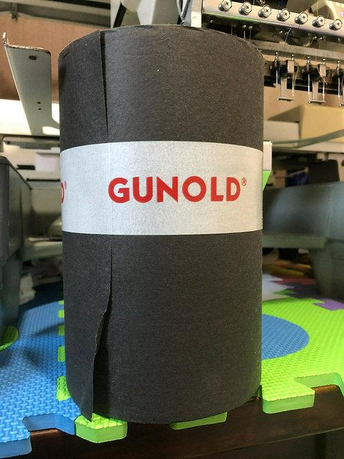 Black 1640NC Backing 37g Gunold 100m x 21cm Embroidery stabiliser Medium Weight.