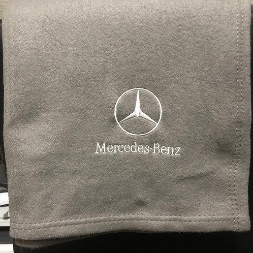 Personalised Mercedes Benz Fleece Blanket