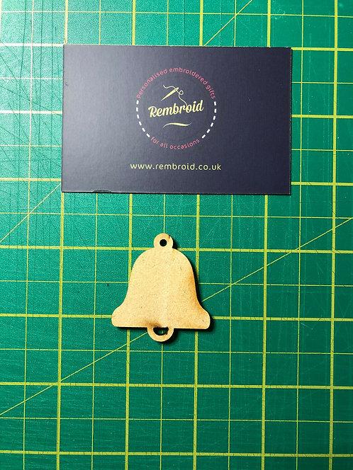 Wooden Christmas Bell