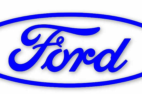Ford Sticker Vinyl Decal, Ford Oval Decal, Vinyl Car Decal, Ford Cosworth, xr4i