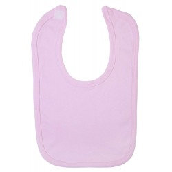 Blank Velcro Fastening Bibs in Pink