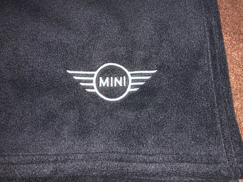 Personalised Mini Fleece Blanket